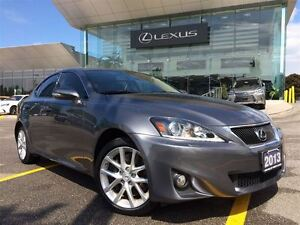 2013 Lexus IS 350 Roof & Navi Pkg AWD Leather Sunroof Back Up Cc