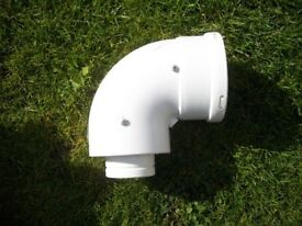 90 degre bend for boiler flue