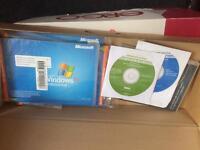 Job lot of windows PC discs