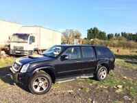Isuzu denver 4x4 top spec le