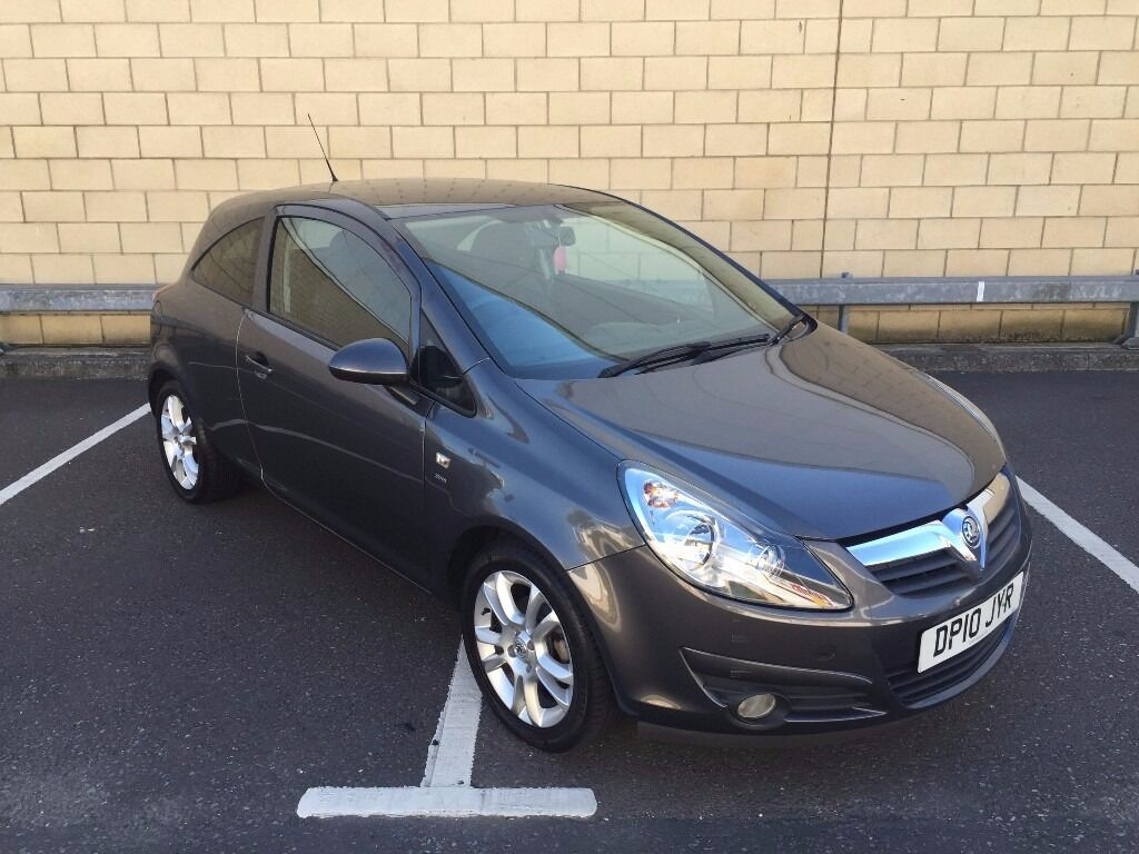 2010 vauxhall corsa 1 4 sxi grey hpi clear great condition new mot in southsea hampshire. Black Bedroom Furniture Sets. Home Design Ideas