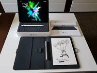 iPad Pro 9.7 128GB+Pencil+Smart Keyboard+Bamboo Spark
