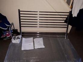 John Lewis priory chrome plated towel radiator