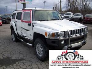 2009 Hummer H3 4X4 5CYL 3.7L MAG SROOF RACK TOIT MPIEDS GR ELECT