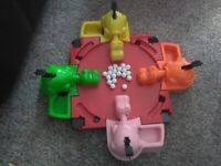 Hungry Hippos Game By Hasbro. Children's fun game