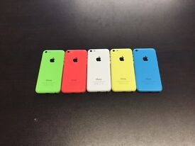 IPhone 5c £95 to £120 different colours available 8gb 16gb 32gb good condition with warranty