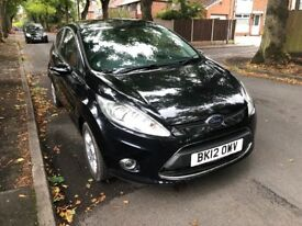 Ford Fiesta zetec dci 2012 (12reg) 12 months mot full dealer history low mileage