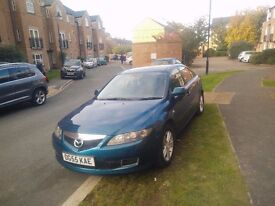 Excellent Mazda 6 2.0 TS2 in mint condition with long MOT, tax & added bluetooth compatibility