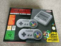 SNES Mini Console - Brand New