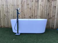 Freestanding Bath and Waterfall Tap