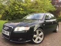 2006 Audi A4 2.0 Turbo QUATTRO 200 Bhp Sline* Bose Sound system* 6 cd changer* 6 Gears*4 wheel drive