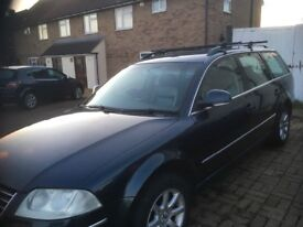 VW PASSAT HI LINE130 BHP LEATHER INTERIOR CHEAP CAR FOR MILLEDGE 50 miles to the gallon.Bedford