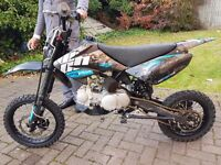 125cc stomp pit bike fastt!! Mint!! Pitbike/ dirt bike/ scrambler/ supermoto ktm motocross/ demon x