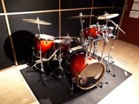 Pearl Vision VX Drum Kit, Hardware & Cymbals