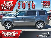 2011 Honda Pilot EXL W/ Heated Leather-Nav-DVD-Sunroof-Back Up C