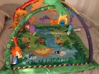 Fisher price rainforest gym/ playmat 5months old