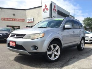 2007 Mitsubishi Outlander XLS (ONE OWNER! LEATHER!)