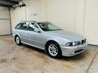 Bmw e39 se touring 525d auto in stunning condition long mot December low mileage fsh
