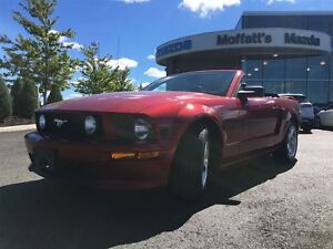 2007 Ford Mustang GT CONVERTIBLE w/ LEATHER V8