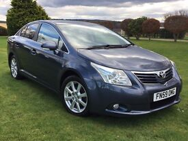2009 TOYOTA AVENSIS 1.8 TR**STUNNING CAR***FSH****WARRANTY****FINANCE ARRANGED ***PX WELCOME