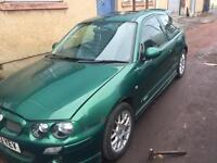 Rover mg zr 2003 plate
