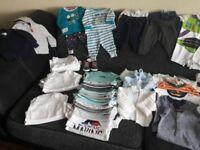 Baby Boys Clothes Bundle 0-3 Months