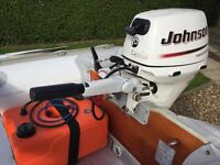 Johnson 15hp 4 Stroke Outboard - Perfect for Rib/Inflatable/Dinghy