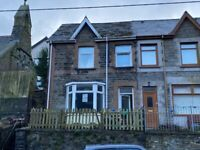 TO RENT 3 Bed Semi-Detached House. PENRHIWCEIBER – 48 Penrhiwceiber Road. Penrhiwceiber. CF45 3SN.