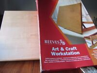 Art And Craft Workstation/Table Easel