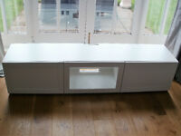 Ikea TV Cabinet in White