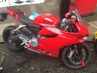 Ducati 899 panigale (Brand new)
