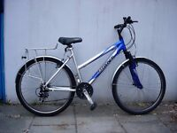 Ladies Mountain/ Commuter Bike by Giant, Blue & White, Light Frame, JUST SERVICED/ CHEAP PRICE!!!!!!
