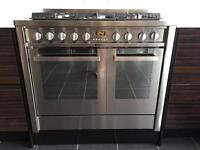 Hotpoint range style gas hob, electric oven