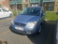 ++++FORD FOCUS C-MAX DIESEL 2005 PLATE+++ GHIA EQUIPPED WITH LONG MOT+++