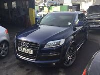 Audi Q7 21inch alloy wheel set with tyres