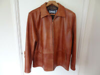 Authentic Schott NYC Tan Men's Leather Jacket - BRAND NEW