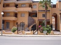 SPAIN 2 BED APARTMENT BEACH SIDE LONG TERM RENTAL CLOSE TO MURCIA/ALICANTE AIRPORT