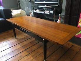 vintage 1960s E Gomme high Wycombe G-PLAN danish style teak coffee table
