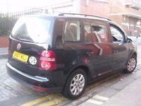 VW TOURAN 1.6 NEW SHAPE 2007 **** 7 SEATER FAMILY MPV **** 5 DOOR HATCHBACK