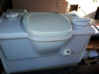 Thetford cassette caravan toilet good condition right hand emptying when sat on