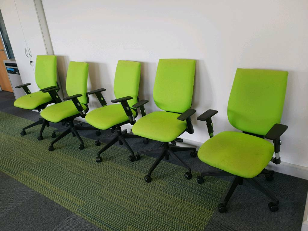 purchase cheap f7aa5 bde7d Lime green office chairs | in Studley, Warwickshire | Gumtree