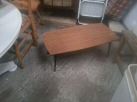 vintage coffe table