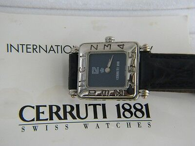 Cerruti Jordan Royal Special Edition King Hussein Women Swiss Watch All Original
