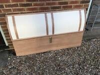 Double bed and drawers