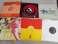 30x records dj vinyls, sandstorm, echoplex, and more, oldskool, cool titles