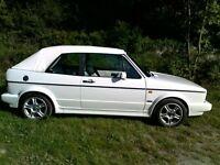 VW Golf MK1 GTI Cabriolet
