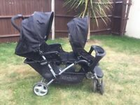 Graco double pushchair £50 collection only
