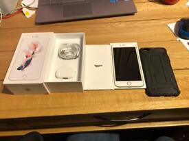 Iphone 6s gold, 128gb, unlocked and boxed