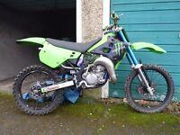 1991 Kawasaki KX125 project/repair super evo