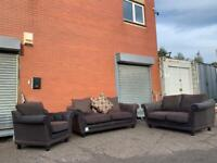 Gorgeous Brand New SCS Sofa Set delivery 🚚 3/2/1 sofa suite couch furniture